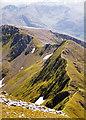 NN1666 : The Devil's Ridge from Sgurr a' Mhaim by wfmillar