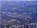 TQ2078 : Chiswick and the Thames from the air by Thomas Nugent