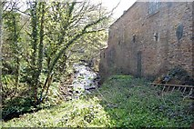 SK3281 : Sheffield : River Sheaf by Ken Bagnall