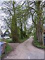 TM3168 : Footpath to Twin Oak Farm by Geographer
