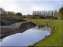 SJ8092 : River Mersey, Sale Ees by David Dixon