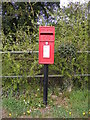TM2547 : The Street  Postbox by Adrian Cable