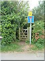 SP9932 : Public Footpath by Mr Biz