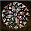 SO9422 : Rose window, St Mary's Church, Cheltenham by Brian Robert Marshall