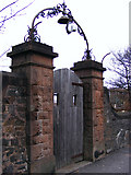 NS2577 : Old gate on Eldon Street by Thomas Nugent