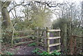 TQ2194 : Kissing Gate, Dollis Valley Greenwalk by N Chadwick