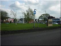 SE3634 : The cross gates at Cross Gates, Leeds by Ian S