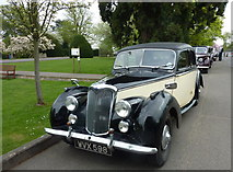 SP8633 : One of the many beautiful old cars displayed outside The Mansion, Bletchley Park by pam fray