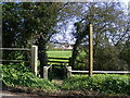 TM3564 : Footpath to Grove Farm by Geographer