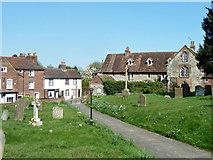 TQ6668 : Cobham churchyard by Robin Webster