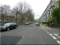 TQ2576 : Putney Bridge to Parsons Green and back via Hurlingham (100) by Basher Eyre