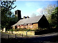 NZ3365 : An outbuilding, St Paul's Jarrow by Stanley Howe