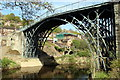 SJ6703 : Iron Bridge over Severn Gorge, Shropshire by Christine Matthews
