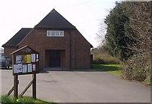 SU5751 : Oakley Village Hall by Graham Horn