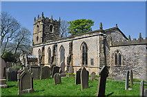 SK1582 : Castleton Church by Ashley Dace