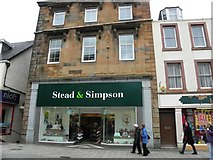 NN1073 : Stead & Simpson, Fort William by Kenneth  Allen