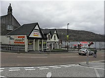 NN1073 : Pier Head Takeaway, Fort William by Kenneth  Allen