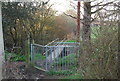 TQ2395 : Footbridge over Dollis Brook by N Chadwick