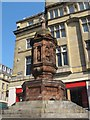 NZ2464 : The Band of Hope Union Memorial Fountain to Dr J H Rutherford, Bigg Market, NE1 by Mike Quinn