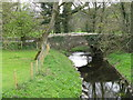 NY2423 : Bridge over a small beck in Portinscale by M J Richardson