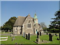 TM1745 : Ipswich Old Cemetery, The Old Cemetery Church by Adrian S Pye