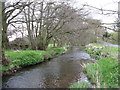 NY4532 : The River Petteril at Little Blencow by M J Richardson