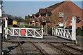 TF9913 : Norwich Road level crossing, Dereham by Glen Denny