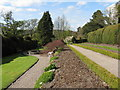 NY4522 : Gardens at Sharrow Bay Hotel by M J Richardson