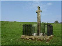 NY4786 : Millholm Cross by M J Richardson