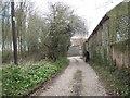TG1834 : Track past Malthouse Farm by Robin Stott