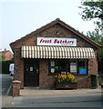 SE7250 : Butchers, Main Street, WIlberfoss by JThomas