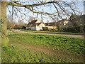 TL2966 : South side of Hilton village green by Marathon