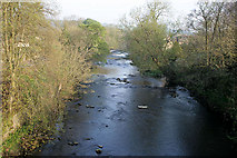 SK2572 : The River Derwent by David Lally