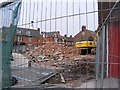 NZ3066 : Borough Theatre Demolition (7) - from High Street East by Mac McCarron