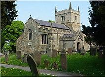 SK4665 : Church of St John the Baptist, Ault Hucknall by Andrew Hill