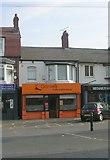SE2534 : Daniels Cafe & Take Away - Stanningley Road by Betty Longbottom