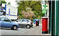 J3169 : Pillar box, Belfast by Albert Bridge