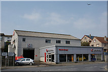 HU4642 : Station Garage, Holmsgarth Road, Lerwick by Mike Pennington