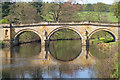 SK2570 : Bridge at Chatsworth Park by Mike Smith