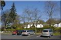 SD3695 : Car park, Sawrey village by Bill Harrison