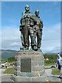 NN2082 : Commando Memorial Spean Bridge by Keith Evans