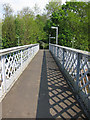 TQ7612 : Footbridge at Crowhurst Station by Oast House Archive