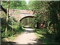 SY0482 : The bridge carrying the B3178 over NCN 2 by David Smith