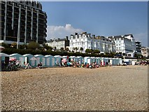 TV6198 : Beach huts - Eastbourne by Paul Gillett