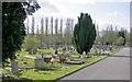 TQ2272 : Putney Vale Cemetery by Ben Brooksbank