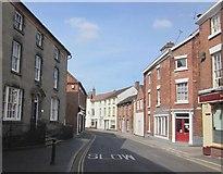 SJ5128 : Wem High Street by Ceri Thomas