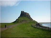 NU1341 : Lindisfarne Castle, Holy Island by Ian S
