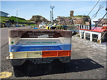 NT6779 : Fishboxes At Dunbar - Sunday 17th April 2011 : The Usual Suspects at Victoria Harbour by Richard West