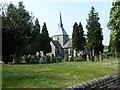 TL1714 : St Helen Church, Wheathampstead by Paul Buckingham