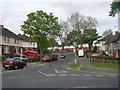 SE1936 : Ranelagh Avenue - viewed from Roundwood Glen by Betty Longbottom